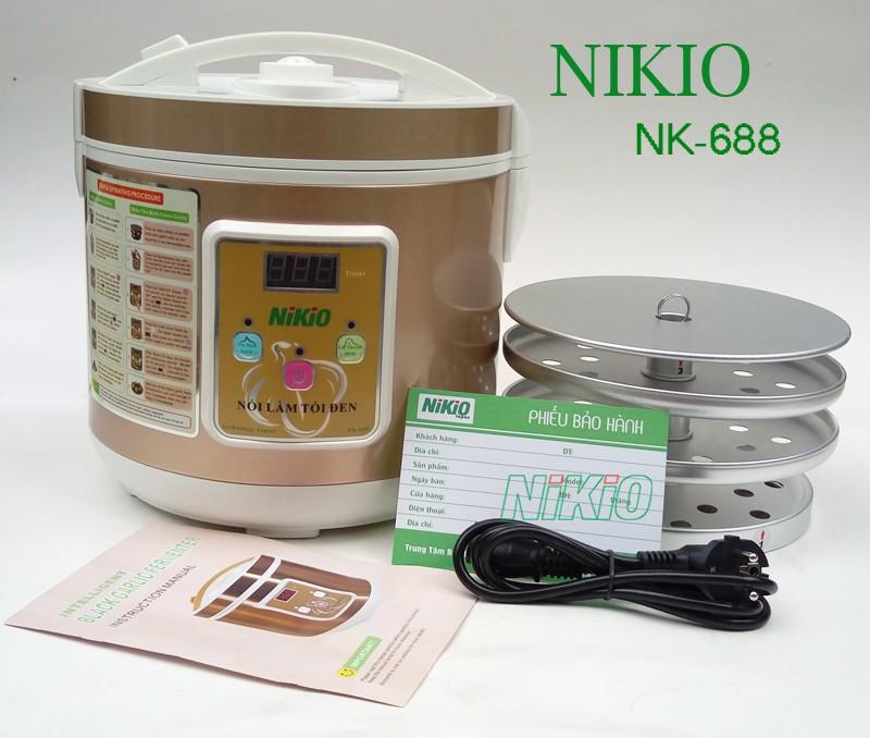 máy làm tỏi đen gia đình Nikio
