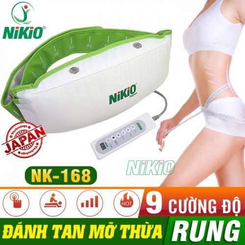 Video giới thiệu máy massage giảm mỡ bụng Nikio NK-168 - Rung Và Nóng - thiết bị giảm mỡ thần kì tại nhà