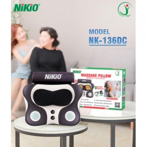 Video giới thiệu máy massage đấm bóp cổ vai gáy, lưng cao cấp Nikio NK-136DC - Pin sạc