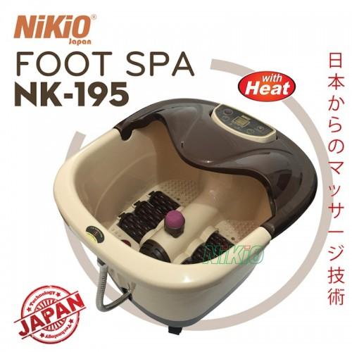 Video khách hàng review chi tiết về bồn ngâm massage chân cao cấp Nikio NK-195 - 4in1
