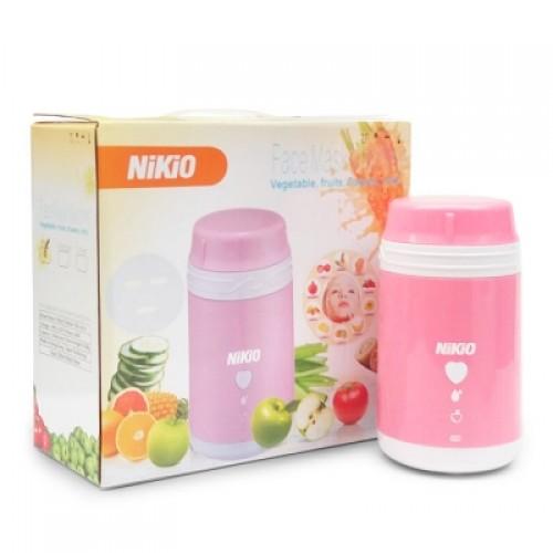 Video đập hộp máy xay làm mặt nạ trái cây hoa quả tươi Nikio NK-A016