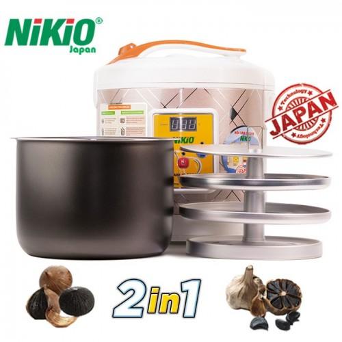Video máy làm tỏi đen tự động Nikio NK-696 - 6L, làm tỏi siêu đơn giản, siêu chuẩn