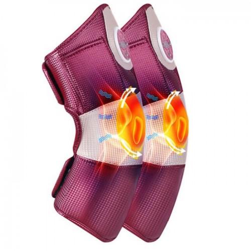 Video máy massage đầu gối có nhiệt sưởi ấm và động cơ rung Nikio NK-185 Nhật Bản