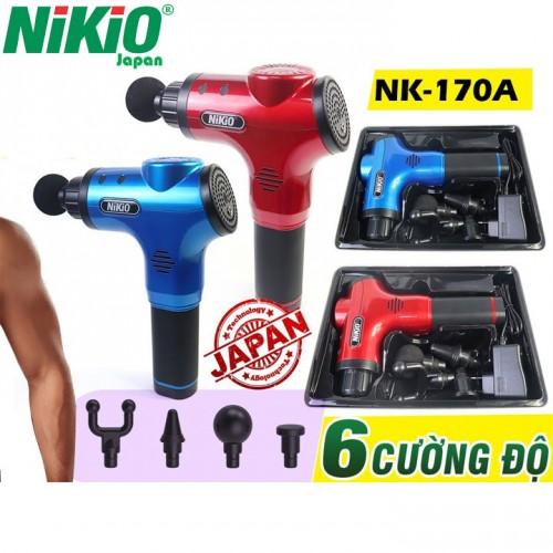 Video giới thiệu súng massage cơ bắp Nikio NK-170A - Hàng chính hãng Nhật Bản - đánh tan các nút thắt cơ