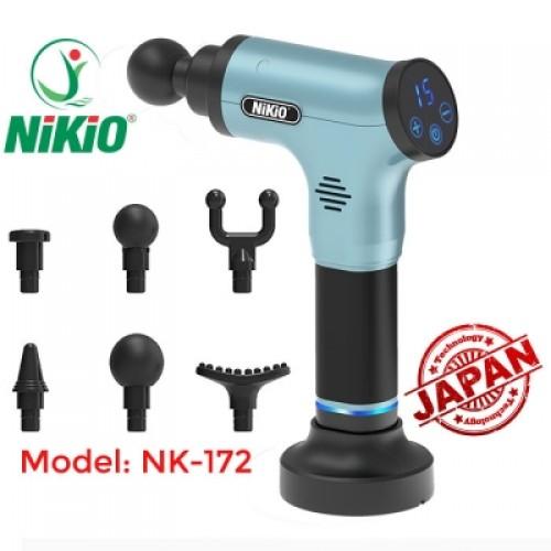Video giới thiệu súng massage cơ cao cấp Nikio NK-172 - Hàng chính hãng Nhật Bản