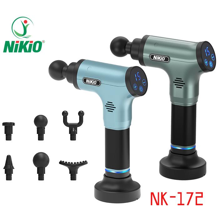 Video review Súng massage cầm tay 6 tốc độ Nikio NK-172